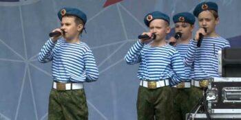 Дзержинский детский парк «Радуга» впервые стал праздничной площадкой Дня Города