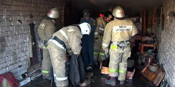 Мужчина сгорел в Дзержинске на улице Пушкинская