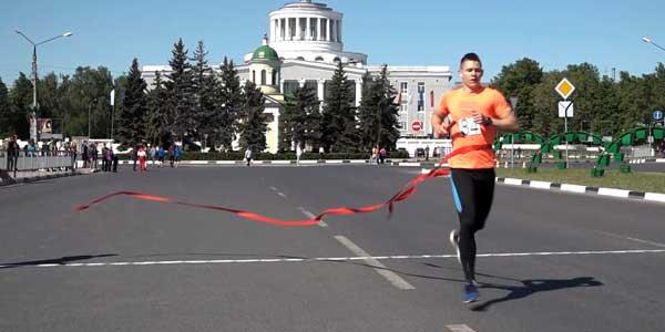 В Дзержинске прошел весенний эстафетный пробег