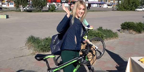 В Дзержинске прошла акция «На работу на велосипеде».