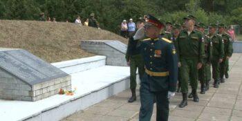 Дзержинцы присоединились к Всероссийской акции «Горсть памяти»