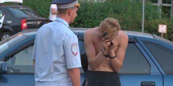 ДТП на Петрищева. Пьяный дзержинец поссорился с девушкой и сел за руль