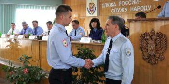 В управлении МВД по Дзержинску подвели итоги работы за первую половину года