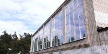 В три раза прочнее. В Дзержинской спортшколе №1 поставили новые окна