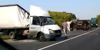 Смертельная авария. В Борском районе столкнулись две «ГАЗели»