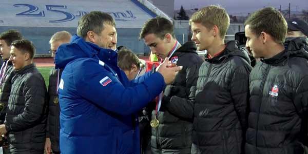Дзержинский «Химик» провел заключительный домашний матч в этом сезоне