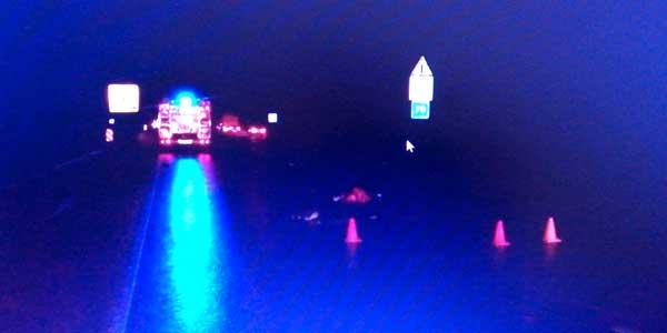 Смертельное ДТП с одним неизвестным. Водитель, сбивший пешехода на трассе М7, скрылся с места наезда