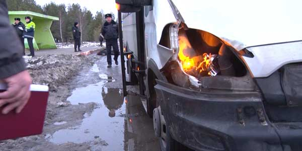 Невеселое утро. Междугородний автобус Нижний-Дзержинск сбил пешехода