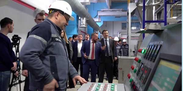 Первое в России производство наномодифицированных полимеров запущено в Дзержинске