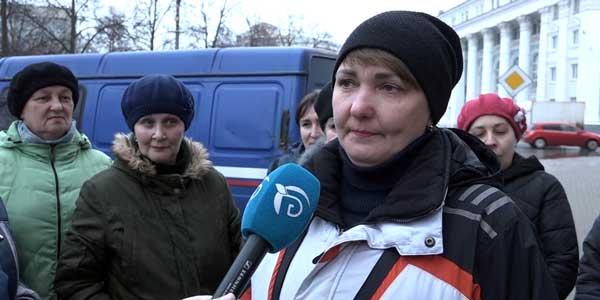 Бунт на почте. Дзержинские почтальоны пожаловались на своего работодателя