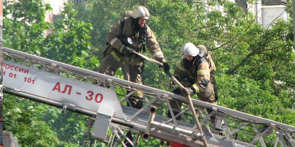 В Дзержинске на бульваре Мира горела квартира