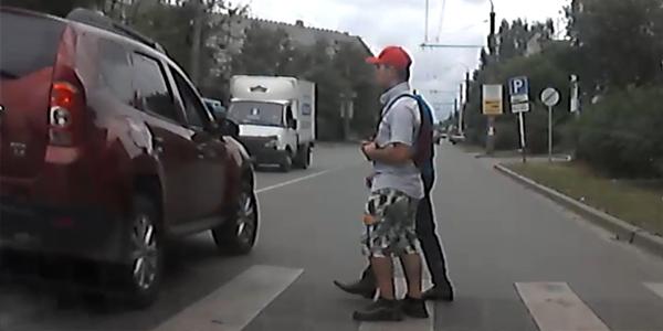 Обратная связь: опасные маневры дзержинских автомобилистов