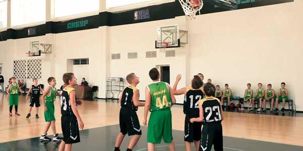 Бронза у дзержинцев: детско-юношеская баскетбольная лига региона завершила сезон